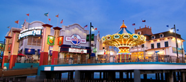 LANDRY'S SELECT CLUB BENEFITS AT<br /> THE PLEASURE PIER